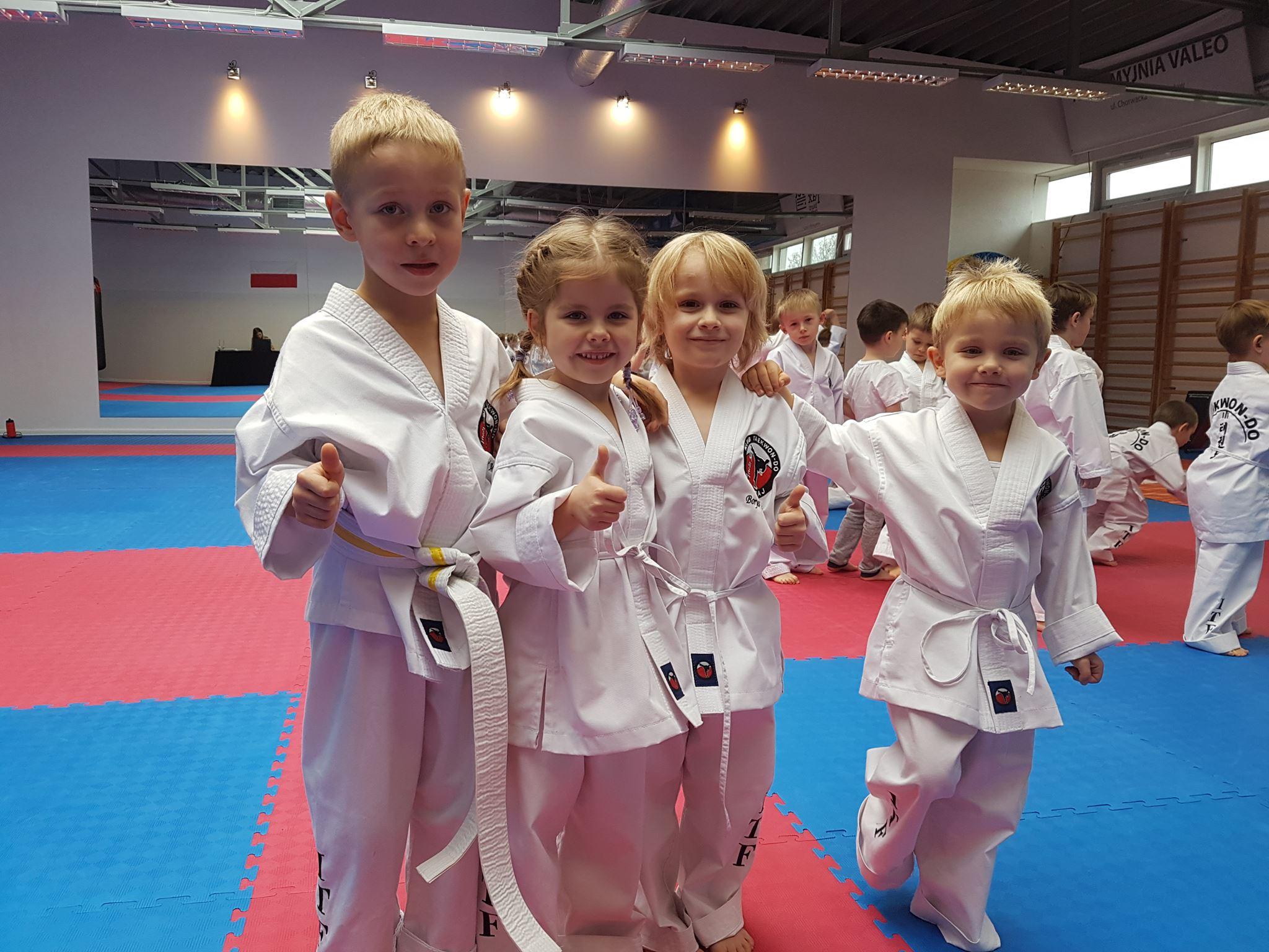 Taekwondo czy judo?