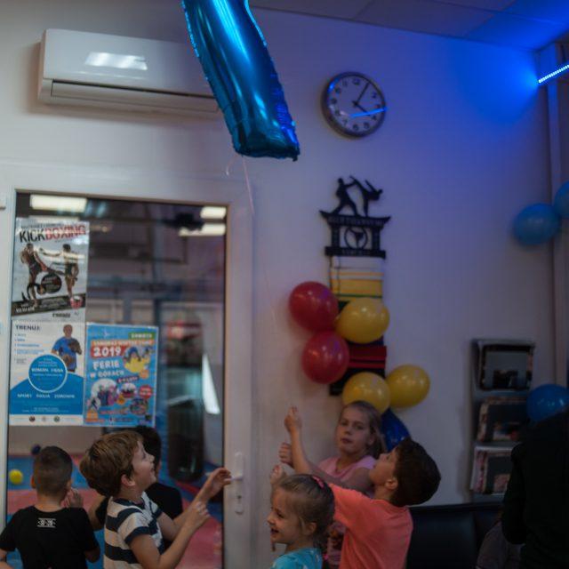 sportowe przyjęcie urodzinowe dla dzieci we Wrocławiu