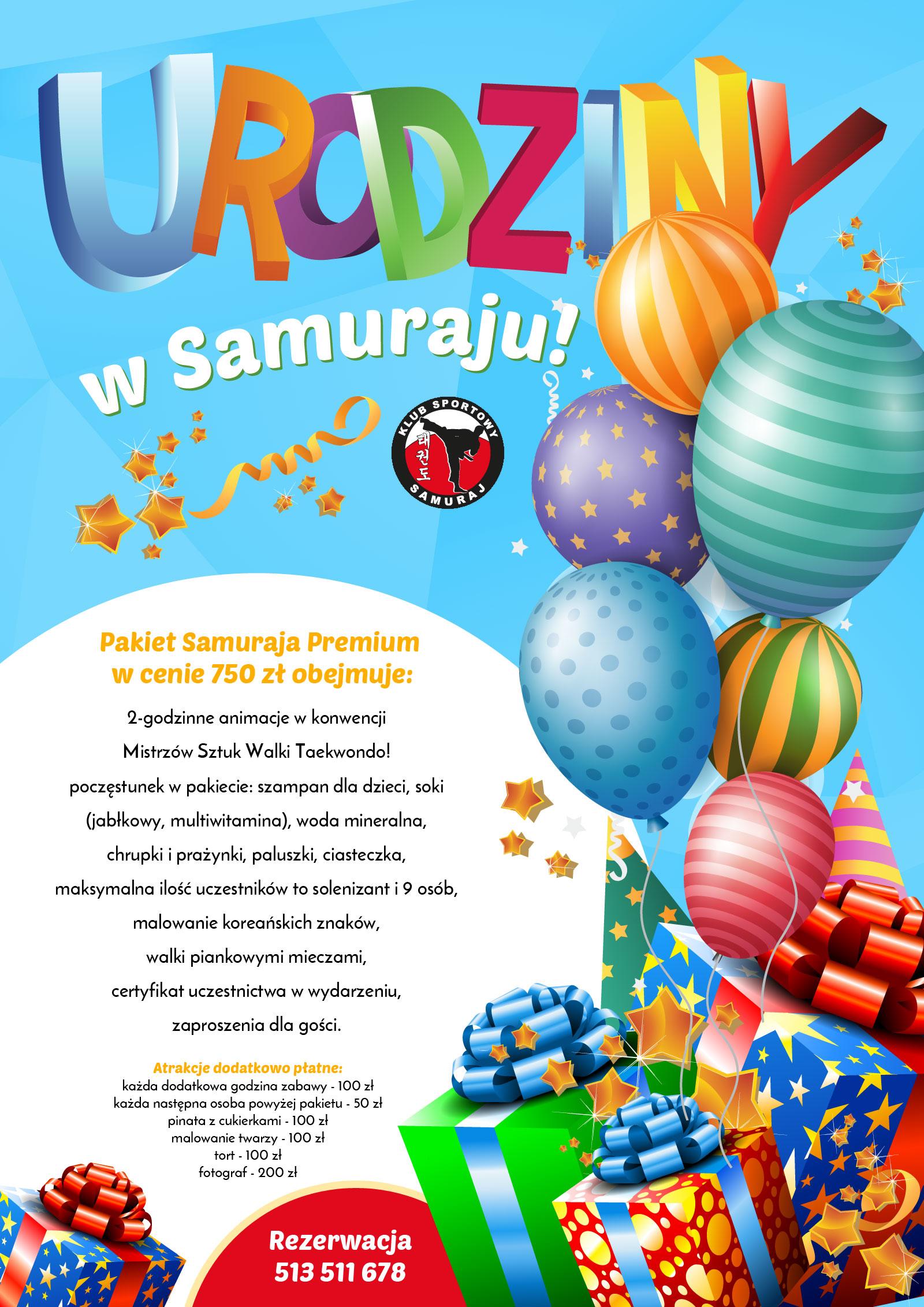 Organizacja przyjęć urodzinowy dla dzieci Wrocław
