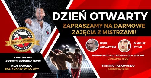 sztuki walki wrocław boks taekwondo judo
